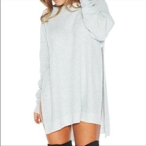 Naked Wardrobe Knit Sweater Dress